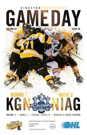 Kingston Frontenacs GameDay April 9, 2016