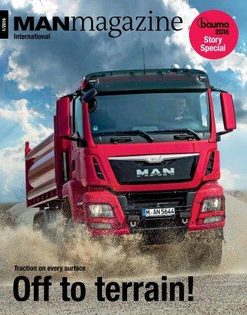 MANmagazin edition Truck 1/2016 International