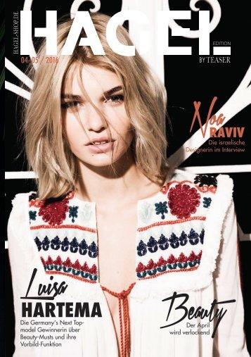 HAGEL Magazin 04/0516