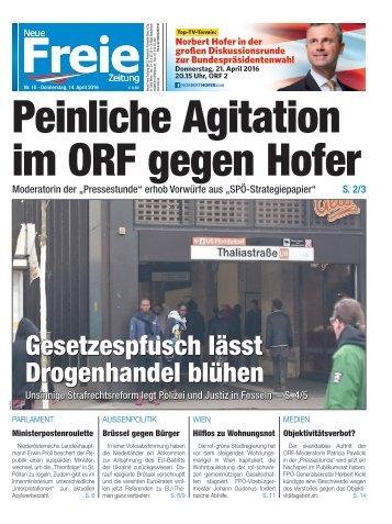 Peinliche Agitation im ORF gegen Hofer