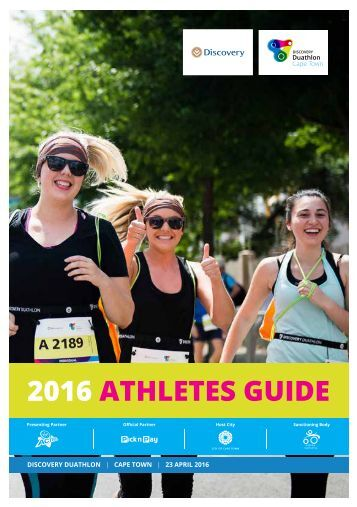 2016 ATHLETES GUIDE
