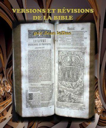 Versions et révisions de la Bible