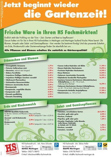 HS Fachmarkt Meitingen & Mertingen