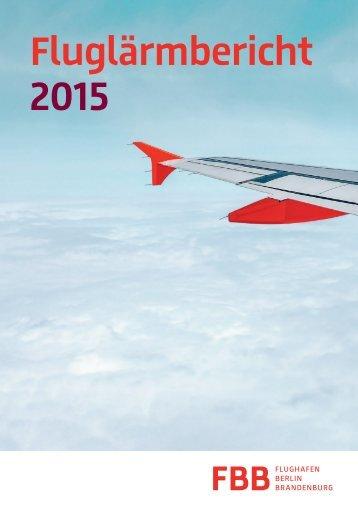 Fluglärmbericht 2015