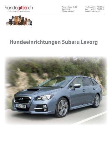 Subaru_Levorg_Hundeeinrichtungen