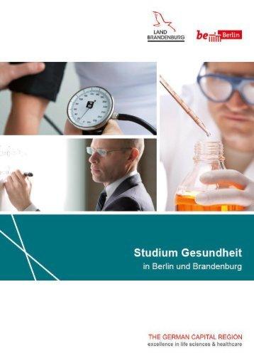 Studium Gesundheit in Berlin und Brandenburg