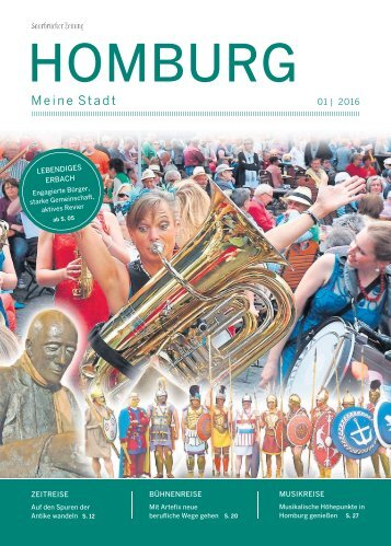 Stadtmagazin Homburg 01|2016