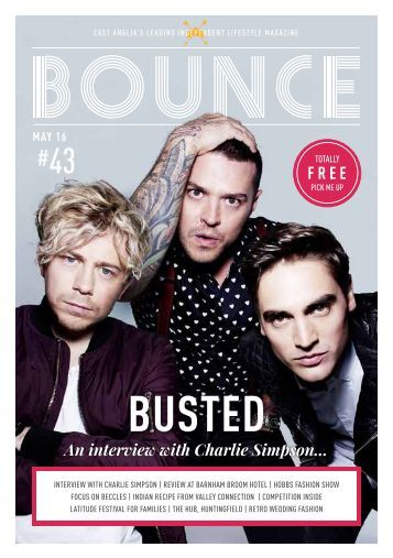 Bounce Magazine May Edition 2016