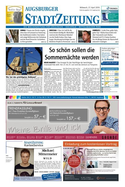 101 Augsburg - Süd 27.04.2016
