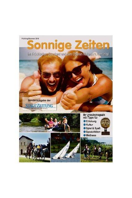 Sonnige Zeiten - Weissenburg 27.04.2016