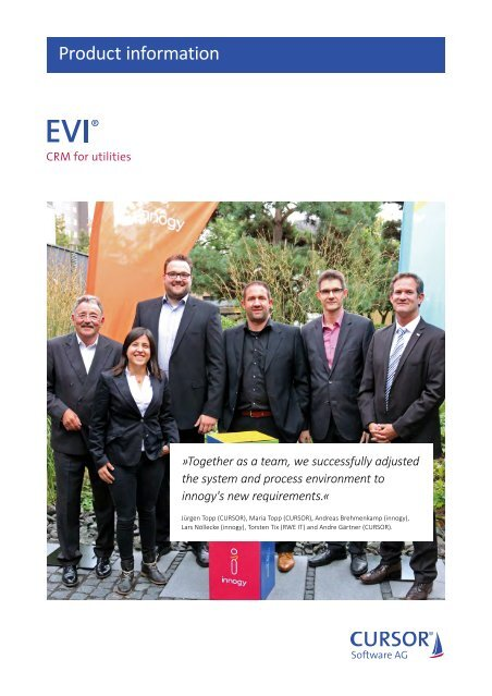 EVI Product Information