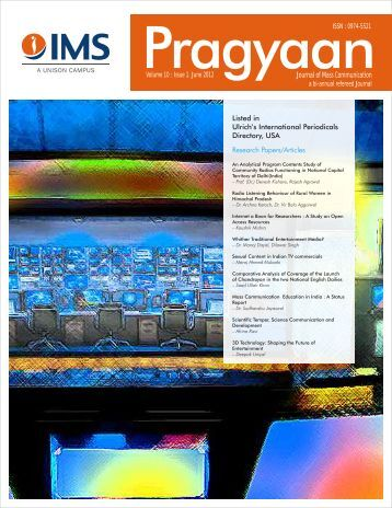 Research Papers/Articles - Institute of Management Studies Dehradun