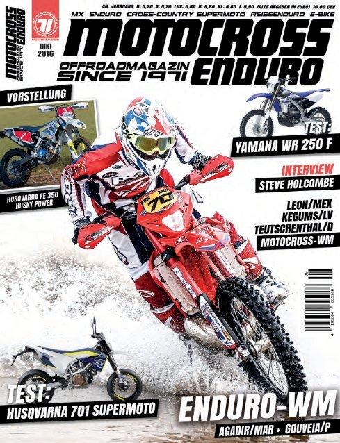 Motocross Enduro Ausgabe 6/2016