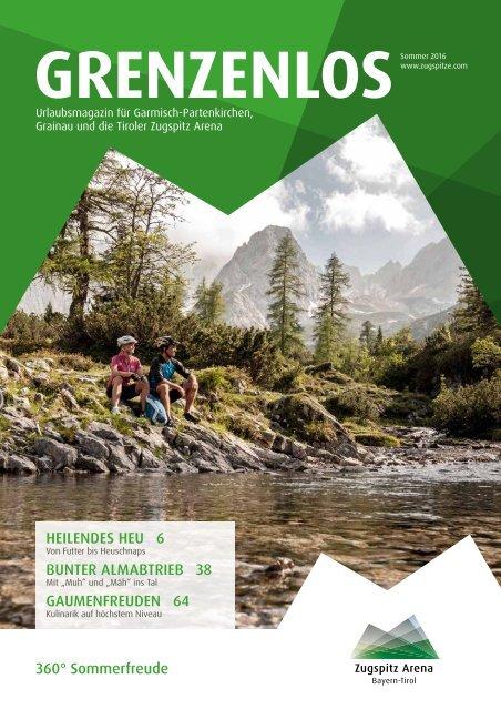 Gästemagazin Grenzenlos Sommer 2016