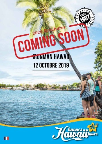 Hannes Hawaii Tours - IM WM Hawaii 2018 FR