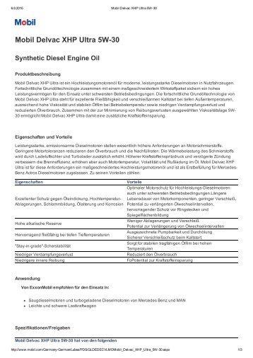 Delvac XHP Ultra 5W-30