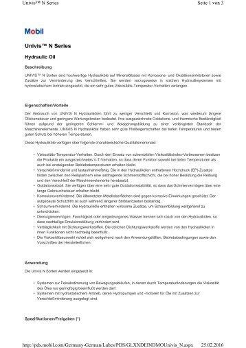 PDS UNIVIS N 32-GERMAN