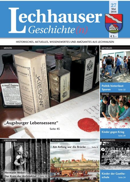 Lechhauser Geschichte(n) - Ausgabe 26