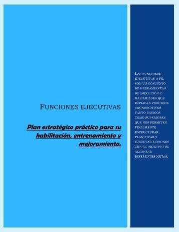 Funciones ejecutivas, ejercicios