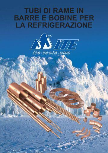 tubi di rame in barre e bobine per la refrigerazione - ITE-Tools.com