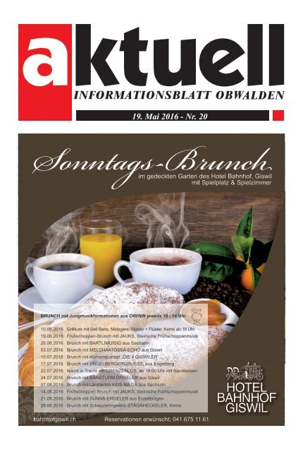 Aktuell Obwalden 20-2016
