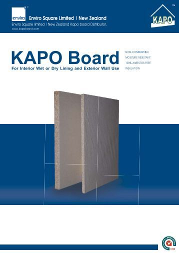 Catalogue (PDF) - KAPO BOARD