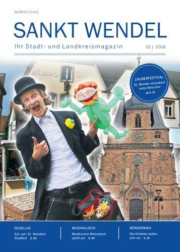 Stadt- und Landkreismagazin St.Wendel 01|2016