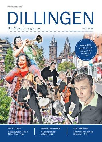 Stadtmagazin Dillingen01|2016