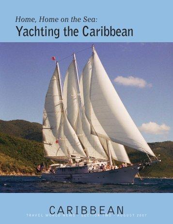Yachting the Caribbean - Travel World News