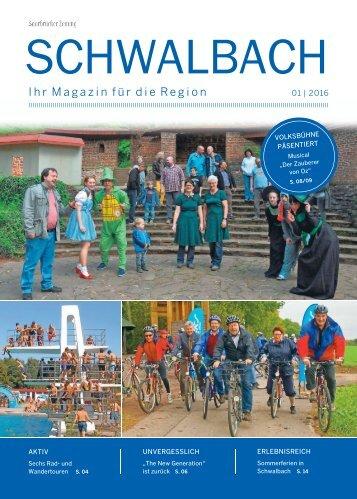 Gemeindemagazin Schwalbach 01|2016