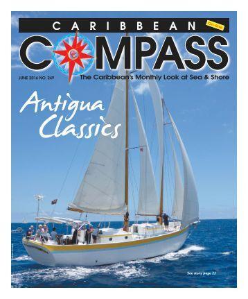 Caribbean Compass Yachting Magazine June 2016