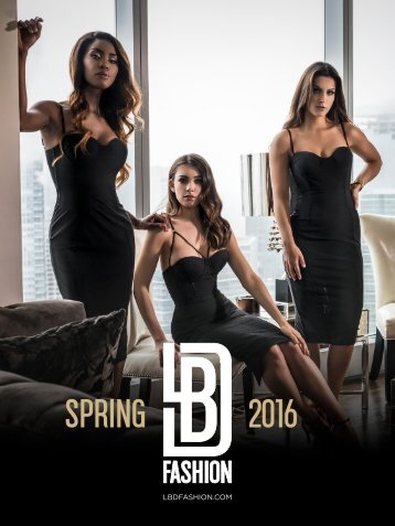 LBD Fashion Look Book