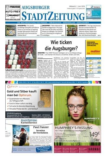102 Augsburg - West 01.06.2016