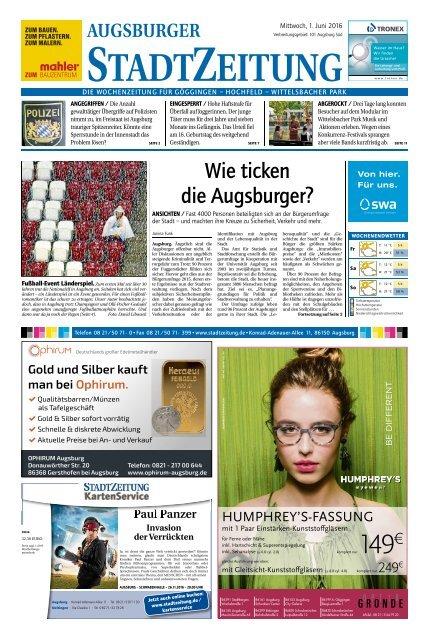 101 Augsburg - Süd 01.06.2016