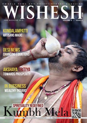 Wishesh Magazine June 2016