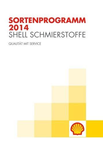 Shell-Sortenprogramm