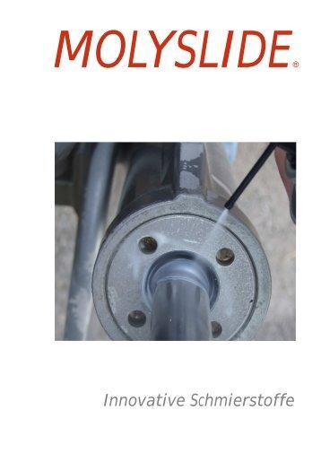 Molyslide Prospekt Haftschmierschmierstoffe 03-2015