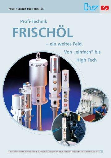 Hallbauer Katalog Frischoel