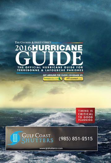 Hurricane Guide 2016