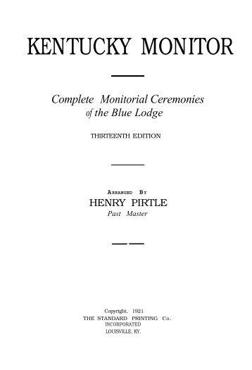 Blue Lodge Ceremonies