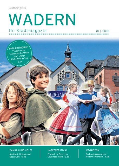 Stadtmagazin Wadern 01|2016