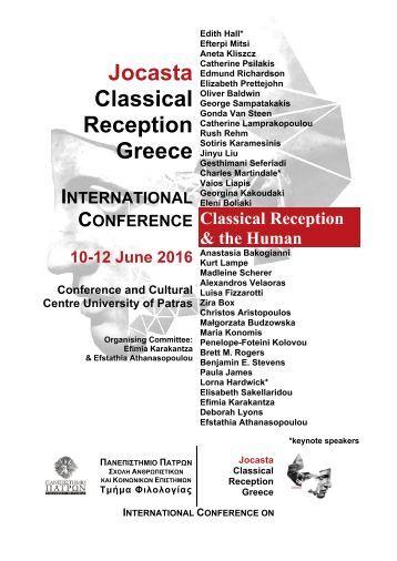 Jocasta Classical Reception Greece