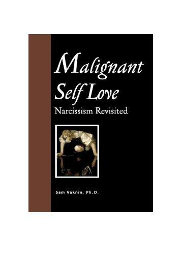 Malignant Self-Love
