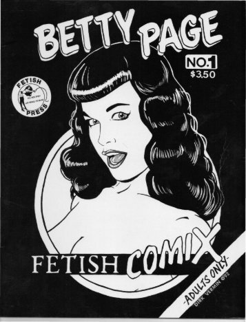 Betty Page - Fetish Comix