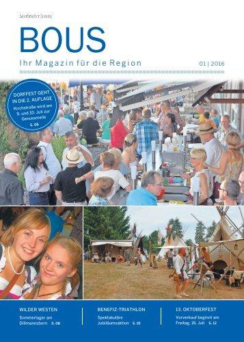 Gemeindemagazin Bous 01|2016