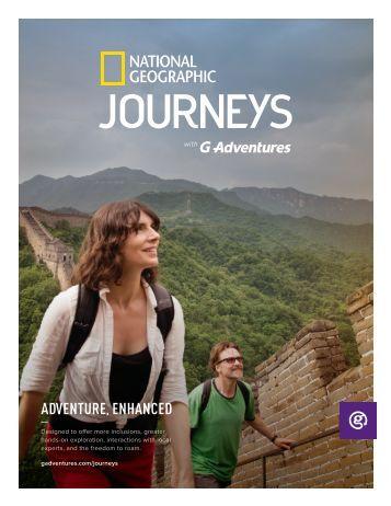 National Geographic Journeys Description