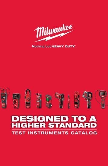 Milwaukee - Test Instruments Catalog