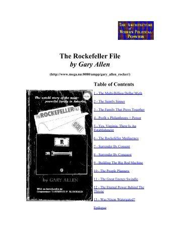 The Rockefeller Files