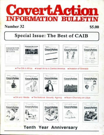 Covert Action Information Bulletin
