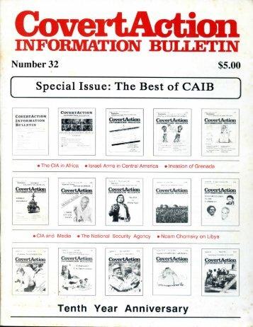Covert Action Information Bulletin